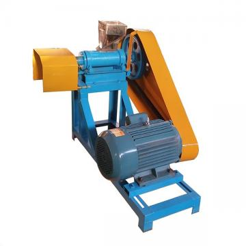 Most stable floating fish feed extruding pellet machine