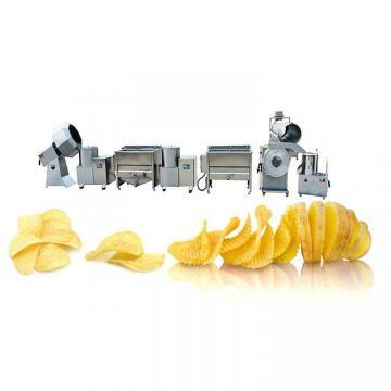 Automatic Fresh Potato Chips Frensh Quick-Freezing Chips Making Machine