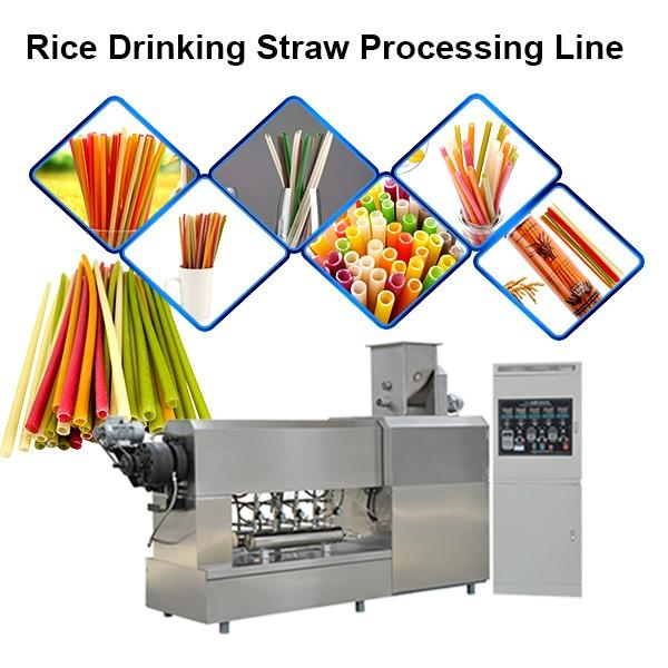 China manufacturer direct sell biodegradable full automatic biodegradable paper drinking straw making machine #1 image