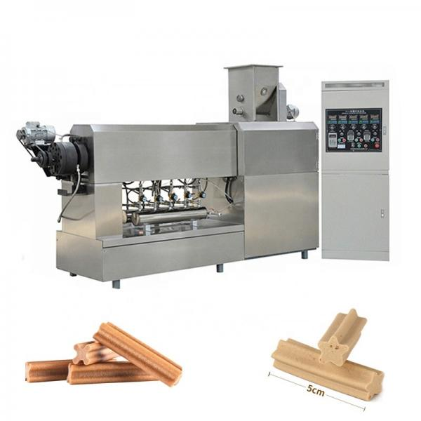 Fully Automatic Dog Treats Making Machine Maker Pet Chewing Snack Food Plant #1 image