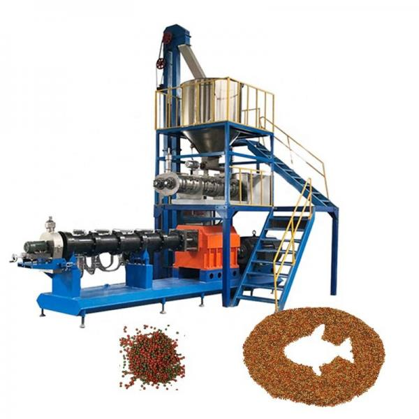 Low Price Floating Fish Feed Pellet Machine Fish Food Extruder Processing Line Maker #1 image