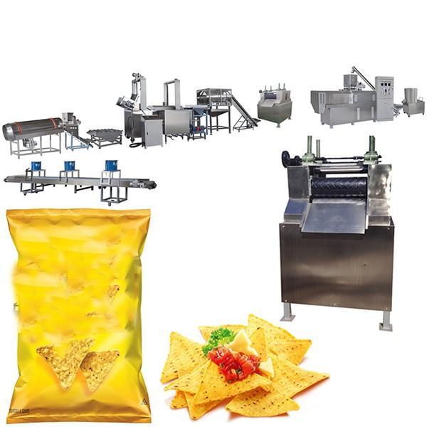 Fried Doritos Tortilla Chips Snack Food Making Machine #1 image