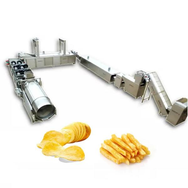 Nitrogen Filling Puffed Foods Potato Chips Stand up Pouch Doypack Bag Automatic Filling Packing/ Packaging/Package Machine #2 image